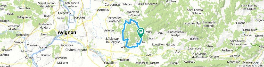Gordes - Fontaine de Vaucluse - Venasque