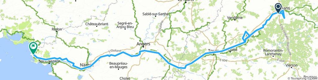 Loire heen
