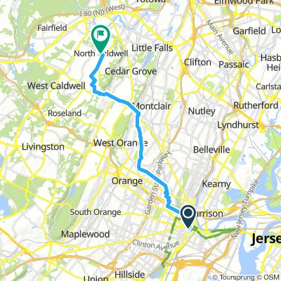 Newark to Caldwell