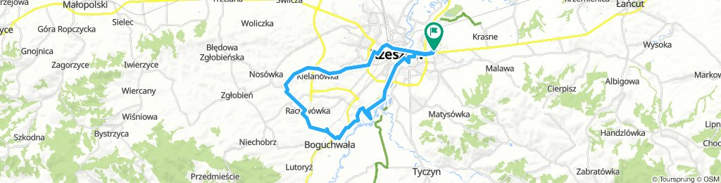 Rzeszow-Kielanowka-Raclawowka-Wislok