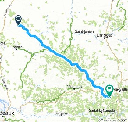 Nantes-La Dornac ride#2