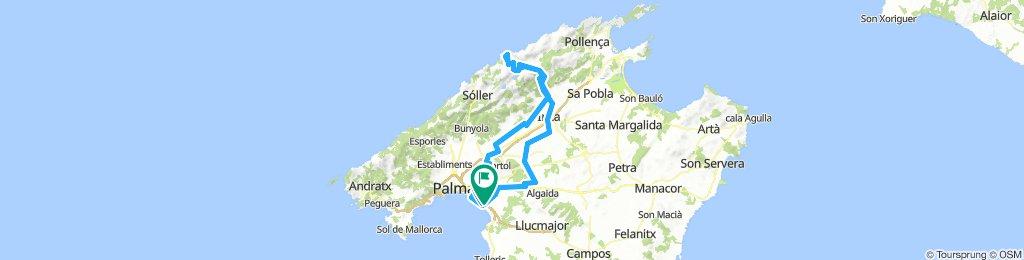 Can Pastilla - Sa Calobra - Can Pastilla