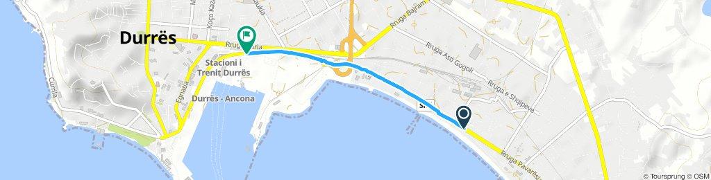 Brief Giovedì Route In bike
