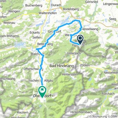 Etappe 2 - Südostrunde Allgäu