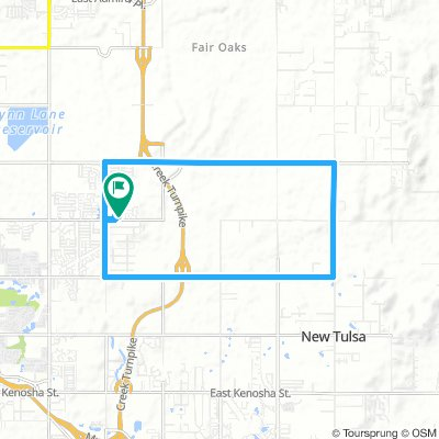Cycling routes and bike maps in and around Broken Arrow | Bikemap ...