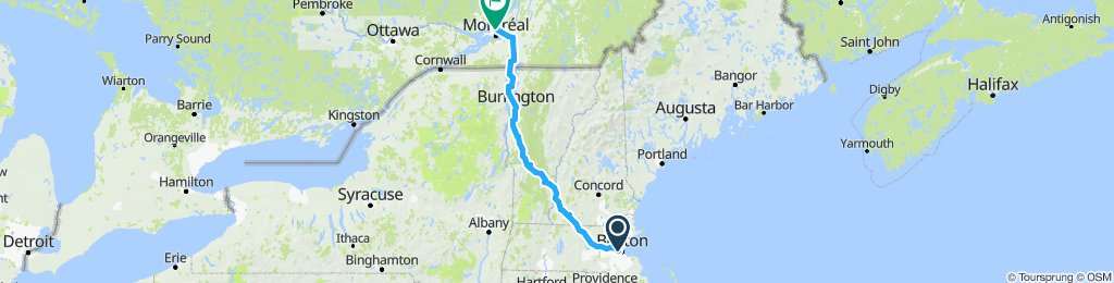 my boston-montreal bike trip