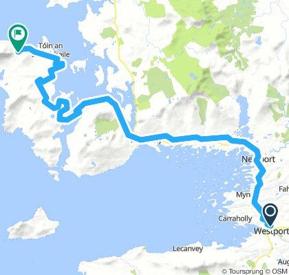 Irlanda 28/07 Westport-Achill island