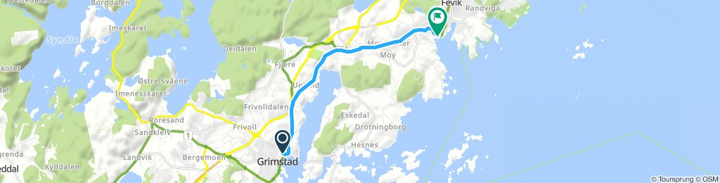 Moderate Fredag Track In Grimstad