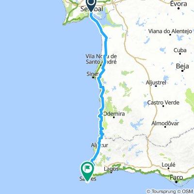 Setúbal Sagres road trip