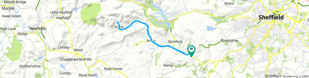Hathersage to Edale and back
