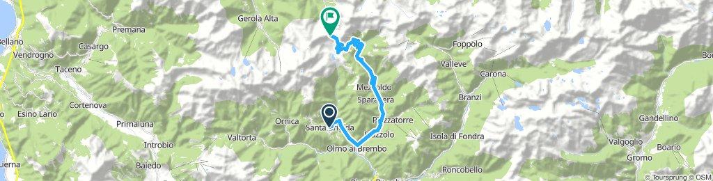 Santa Brigida -> Passo San Marco