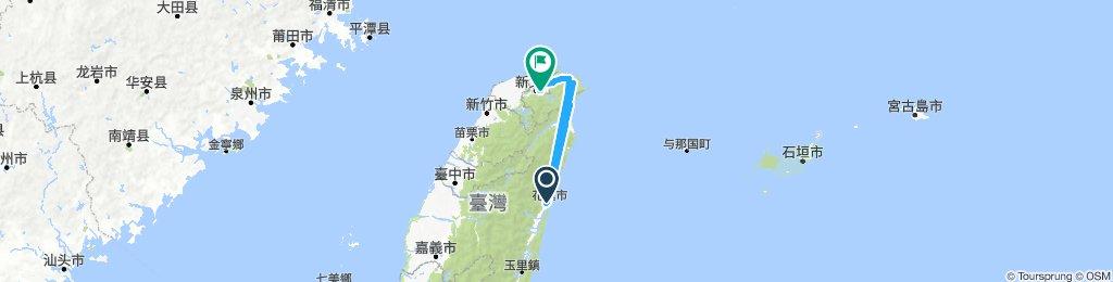 花蓮坐火車到台北