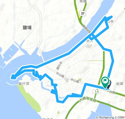 Moderate 星期六 Route In 東港鎮-鎮內