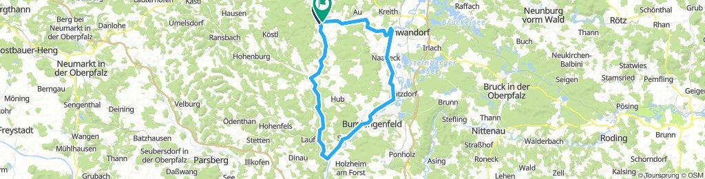 Ensdorf-Kallmünz-Burglengenfeld-Schwandorf-Ensdorf
