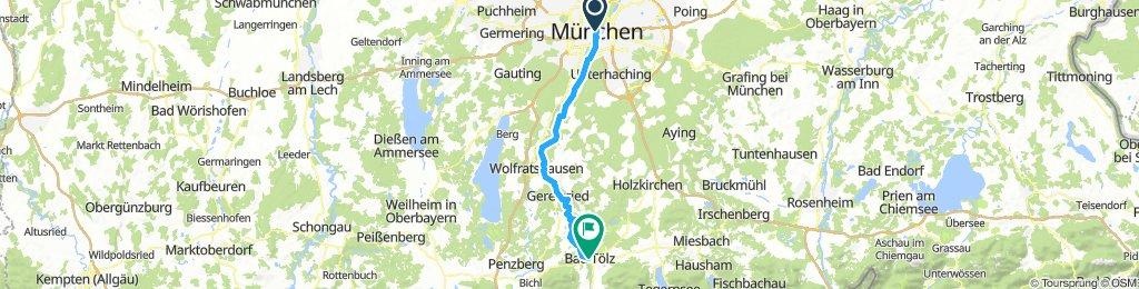 Munich to Bad Tolz