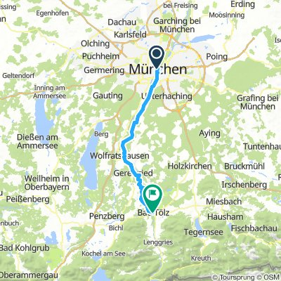 Munich to Bad Tolz