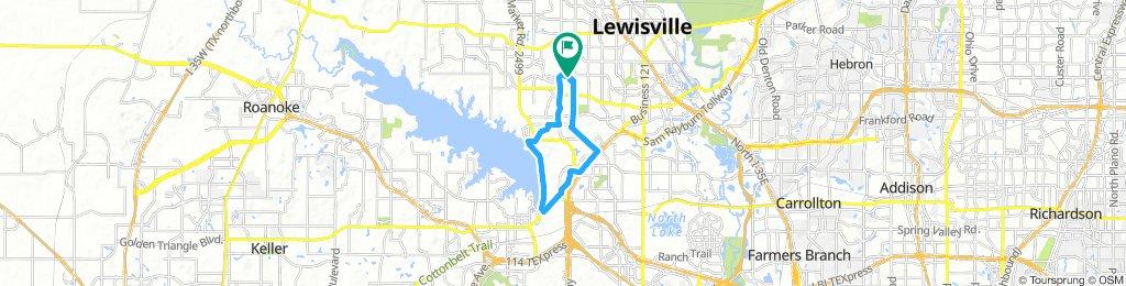 Ride around Grapevine, Tx