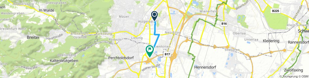 Quick Samstag Route In Wien