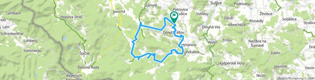 Vlastějov 42 km