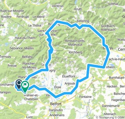Thann-Belfort-Ballon d'Alsace