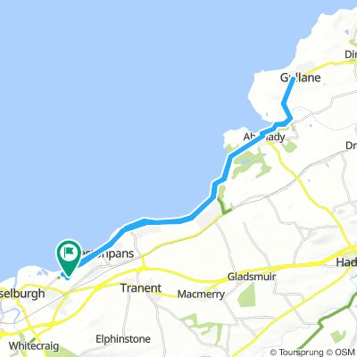 Wallyford to Gullane