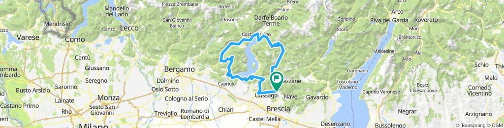 Concesio Colle San Zeno Lago Endine San Fermo Sarnico Concesio