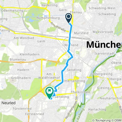 Steady Montag Route In München