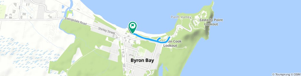 Brief Morning Route In Byron Ba