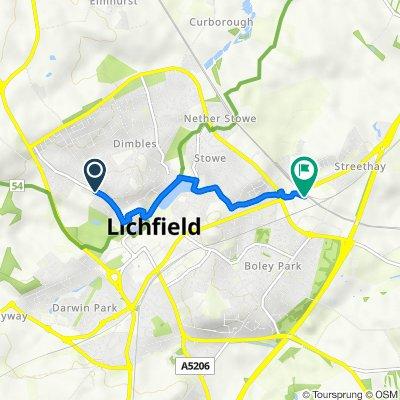 Lichfield - The Feathers return