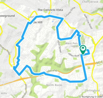 West Pennant Hills and Castle Hill