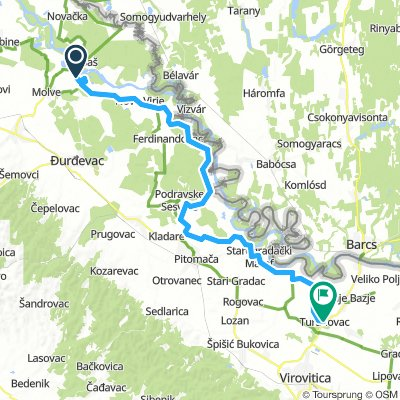 Drau to Danube - Day 2