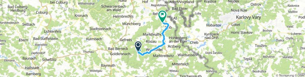 SeehausParkplatz-Karches-Haberstein-Schneeberg-Nusshardt-Seehaus-Fichtelsee-Wunsiedel-HStädt-Selb-SD