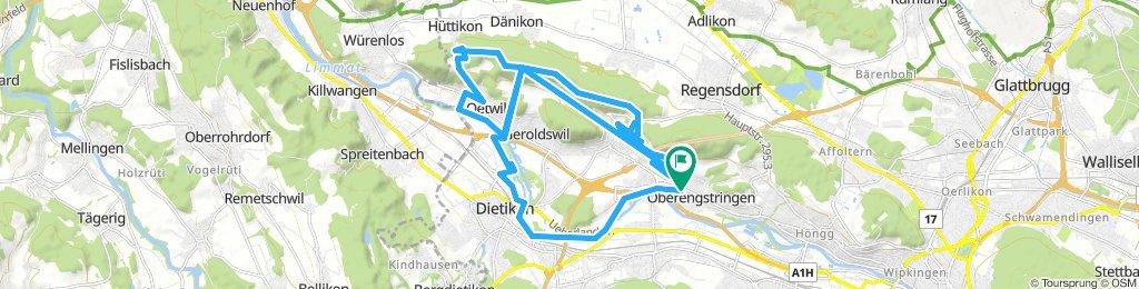 Extensive Morning Ride In Oberengstringen
