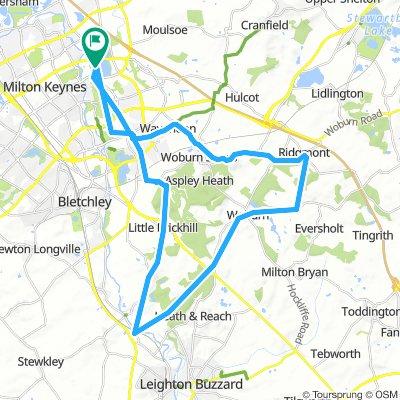 BHF 50 km on road