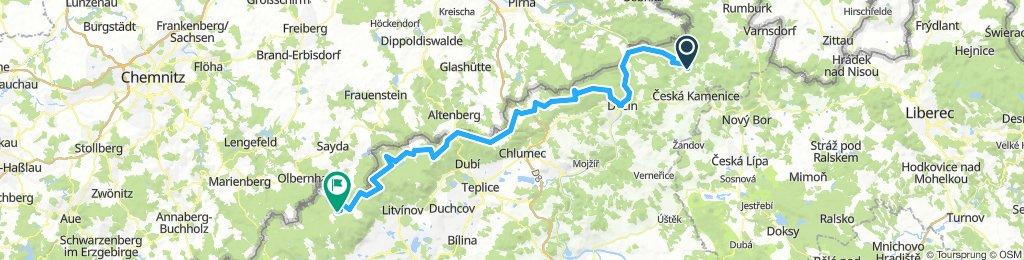 Czech Fixed Tour Etapa 04 Jetřichovice - Hora Sv. Kateřiny
