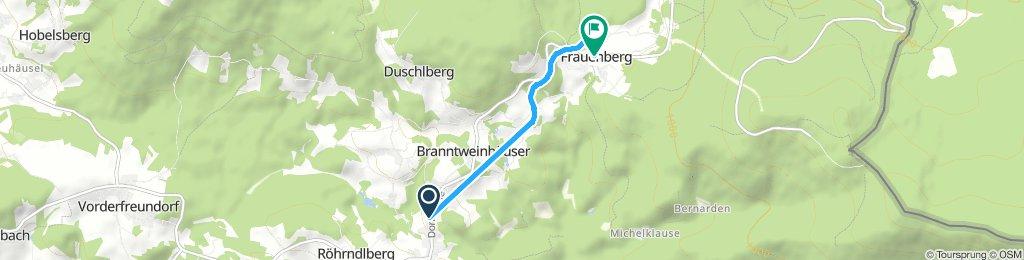 altreichenau - Frauenberg