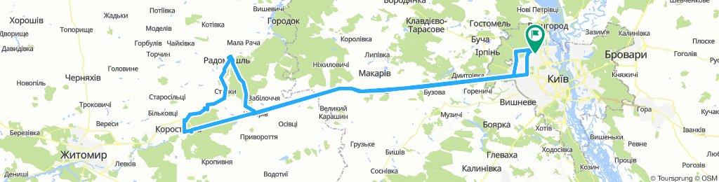 Радомышль - Коростышев