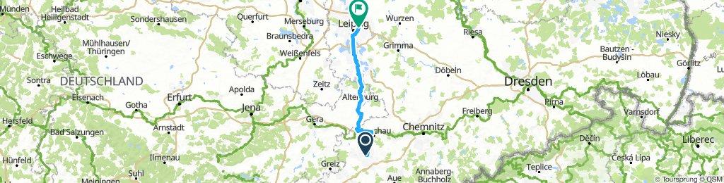 Německo 2018: Zwickau - Leipzig (Den 2.)