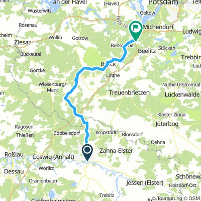 Německo 2018: Lutherstadt Wittenberg - Beelitz (Den 4.)