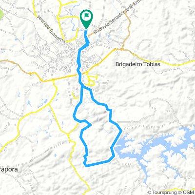 Sorocaba » Reserva Itupararanga » Trilha » Cachoeira da Chave