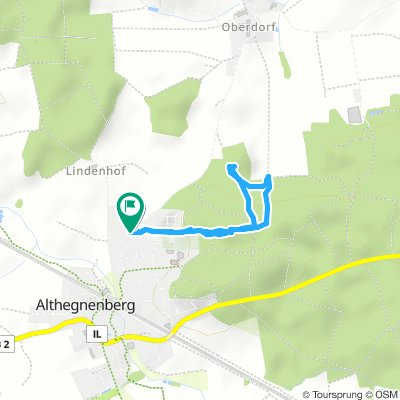 Short Monday Route In Althegnenberg