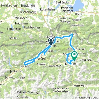 3.Etappe Kufstein - Kitzbühler Horn