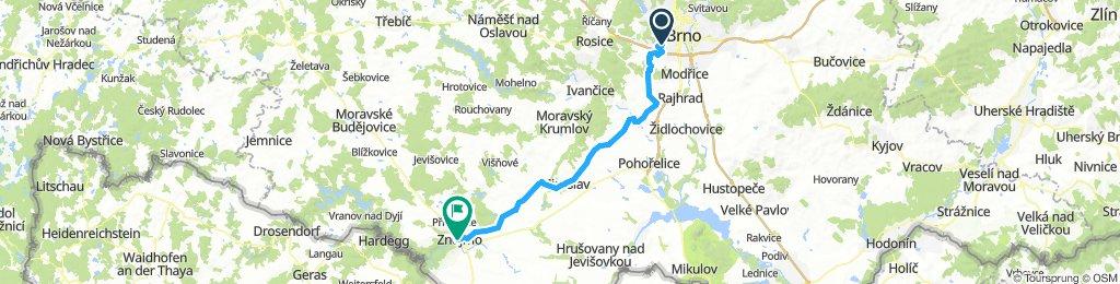 Brno - Znojmo