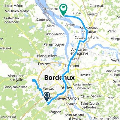 Flughafen Bordeaux - Camping Beausoleil - Bourg