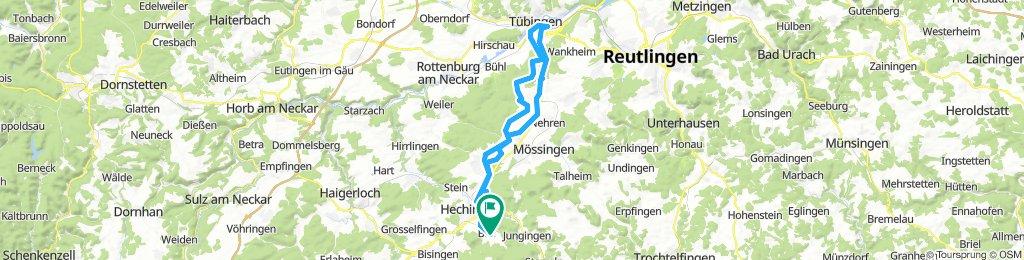 Von Boll nach Tübingen und zurück (05.07.2018)