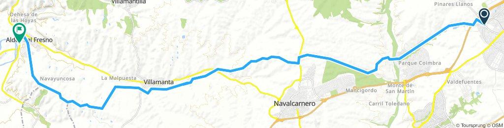Móstoles - Río Alberche