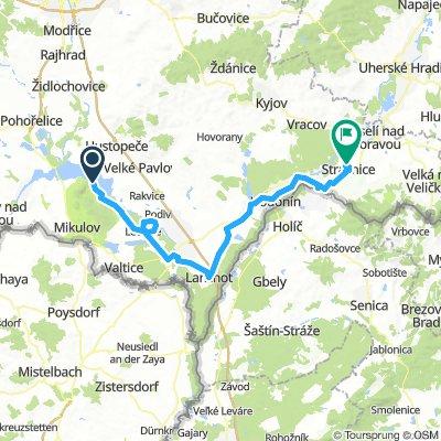 Czech Fixed Tour Etapa 10 Pavlov - Strážnice