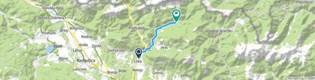 Easy Monday Ride In Tržič