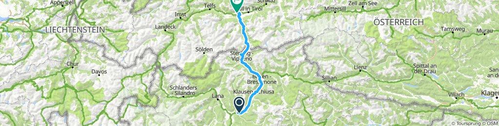 Bolzano - Innsbuck