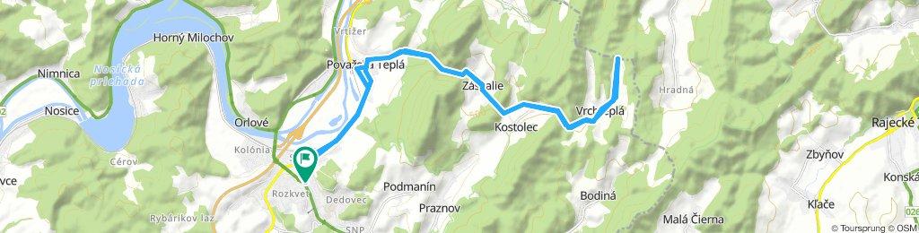 Pov. Bystrica - Vrchteplá - P.B.